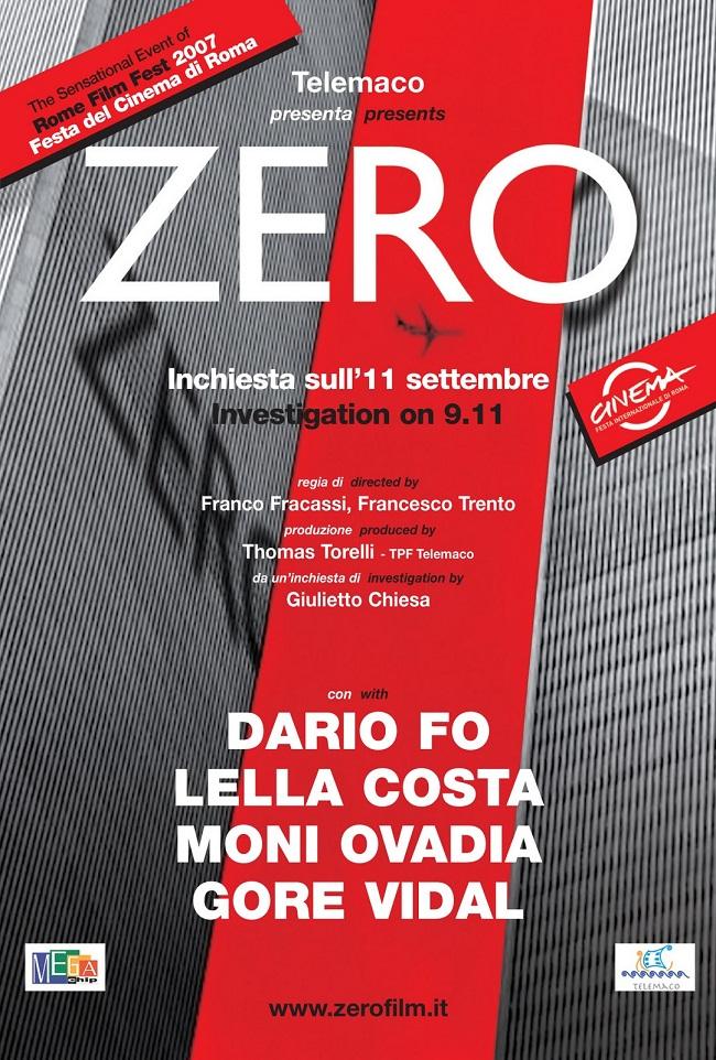 Zero, investigación sobre el 11S (Documental, Italia)