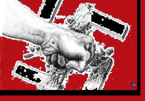Abajo el fascismo