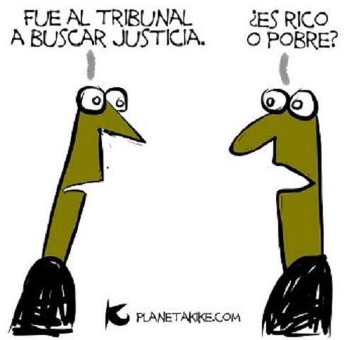 El tribunal Kike Estrada