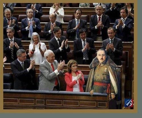 Españoles Franco a vuelto