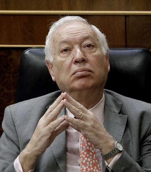 José Manuel García-Margallo. Ministro de Asuntos Exteriores y de Cooperación del Gobierno de España. Foto: EFE