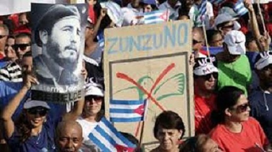 1ro de Mayo en la Plaza de la Revolución. La Habana, Cuba. Foto: Cubadebate