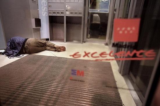 Foto de la serie Spanish Crisis. Autor: Olmo Calvo