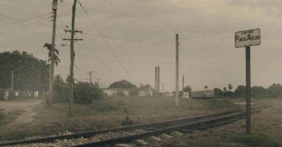 """Fotograma del documental, """"El tren de la línea norte"""". Director: Marcelo Martín."""
