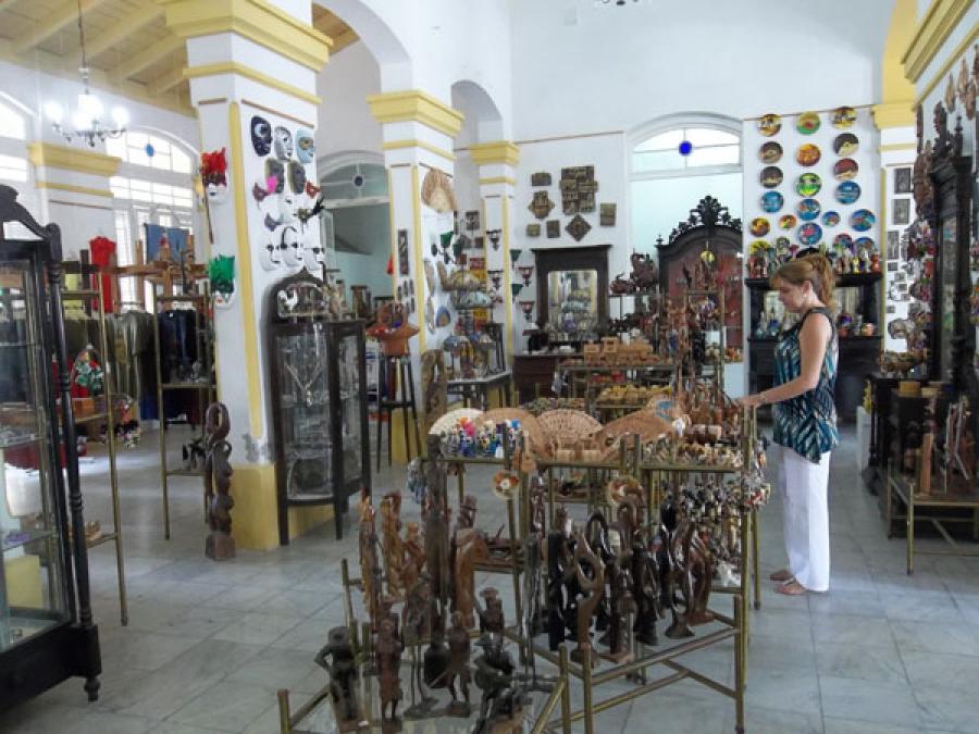 Sede del Fondo Cubano de Bienes Culturales en la provincia de Cienfuegos.