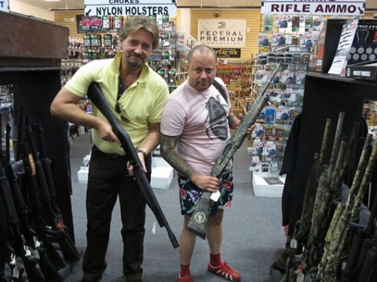 Tienda para la venta de armas en EE.UU