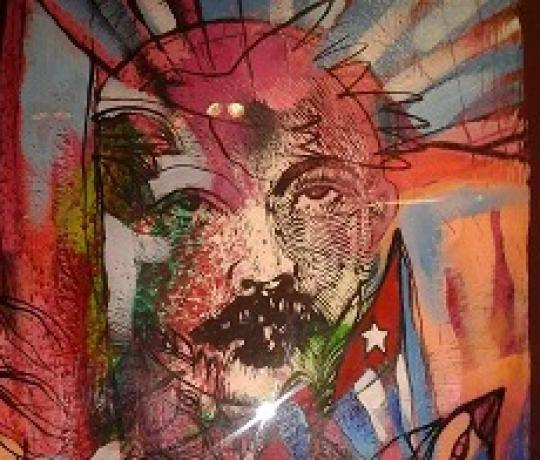 Obra del artista chileno radicado en Cuba Carlos Tato Ayress