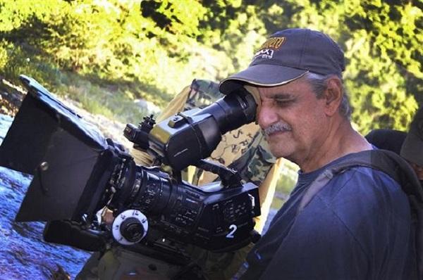 """José Manuel Riera. Director de fotografía del filme """"Café amargo""""."""