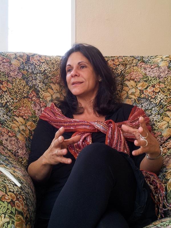Marta Díaz, decana de la Facultad de Comunicación Audiovisual de la Universidad de las Artes de Cuba
